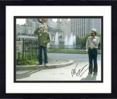 "Framed Martin Scorsese Autographed 11"" x 14"" Taxi Driver With Robert De Niro Wearing White Hat Taxi Driver Photograph - PSA/DNA COA"