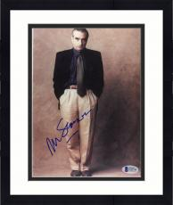 "Framed Martin Scorsese Autographed 8""x 10"" Wearing Black Jacket Hands In Pocket Photograph - Beckett COA"