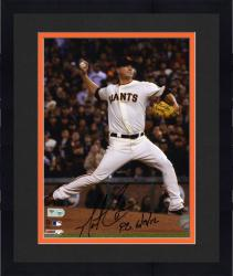 "Framed Matt Cain San Francisco Giants Autographed 8"" x 10"" Photograph with ""PG 6/13/12"" Inscription"