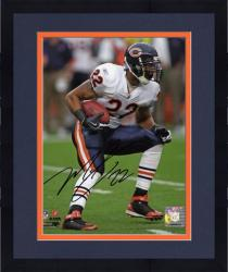 "Framed Matt Forte Chicago Bears Autographed 8"" x 10"" White Uniform Photograph"