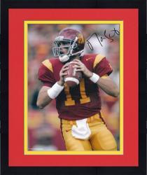 """Framed Matt Leinart USC Trojans 8"""" x 10"""" Autographed Photograph"""
