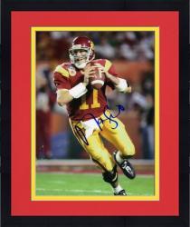 """Framed Matt Leinart USC Trojans Autographed 8"""" x 10"""" Photograph"""