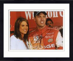 Framed Jeremy Mayfield Autographed 8'' x 10'' With Girl Photograph