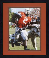 Framed Fanatics Authentic Autographed Willis McGahee Miami Hurricanes 8'' x 10'' vs. FSU Seminoles Stiff Arming Photograph