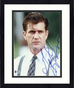 """Framed Mel Gibson Autographed 8""""x 10"""" Forever Young Wearing Tie Photograph - Beckett COA"""
