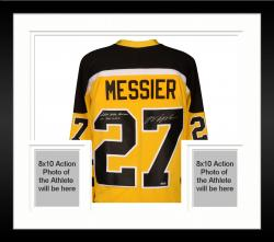 Framed Mark Messier Autographed Cincinnati Stingers Jersey