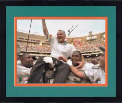 """Framed Miami Dolphins Don Shula Signed 16"""" x 20"""" Photo"""