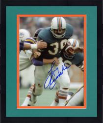 Framed Miami Dolphins Larry Csonka Autographed 8'' x 10'' vs. Minnesota Vikings Photograph