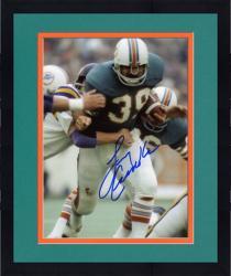 "Framed Miami Dolphins Larry Csonka Autographed 8"" x 10"" vs. Minnesota Vikings Photograph"