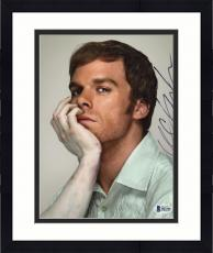 "Framed Michael C. Hall Autographed 8"" x 10"" Dexter Dead Arm Photograph - Beckett COA"