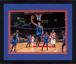 "Framed Michael Carter-Williams Philadelphia 76ers Autographed 16"" x 20"" Layup vs. Portland Trail Blazers Photograph"