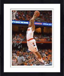 "Framed Michael Carter-Williams Syracuse Orange Autographed 8"" x 10"" Dunk Photograph"