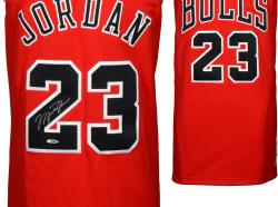 Framed Michael Jordan Chicago Bulls Autographed Mitchell & Ness Jersey