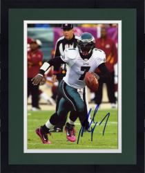 "Framed Michael Vick Philadelphia Eagles Autographed 8"" x 10"" Pink Cleats Photograph"