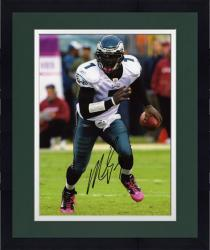 Framed Michael Vick Philadelphia Eagles Autographed 8'' x 10'' Running Photograph