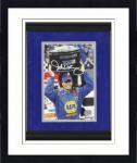 Framed Michael Waltrip Autographed Photo