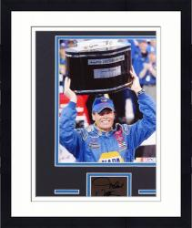 Framed Michael Waltrip Matted 8x10 Photograph with Autographed Cut Piece - Mounted Memories