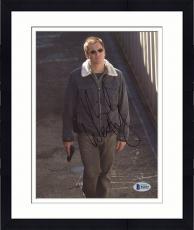"Framed Michael Weatherly Autographed 8"" x 10"" NCIS Holding Gun Photograph - Beckett COA"