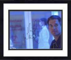 "Framed Michael Weatherly Autographed 8"" x 10"" NCIS Photograph - Beckett COA"