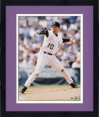 """Framed Mike Hampton Colorado Rockies Autographed 16"""" x 20"""" Pitching Photograph"""