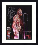 "Framed Mike Love Beach Boys Autographed 8"" x 10"" Singing & Playing Instrument Photograph - BAS"