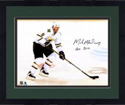 "Framed Mike Modano Dallas Stars Autographed 16"" x 20"" White Horizontal Photograph With HOF 2014 Inscription"