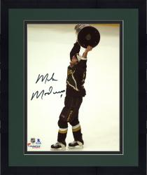 """Framed Mike Modano Dallas Stars Autographed 8"""" x 10"""" Raising Cup Photograph"""
