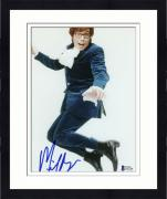 "Framed Mike Myers Autographed 8""x 10"" Austin Powers Jumping In Air Photograph - Beckett COA"