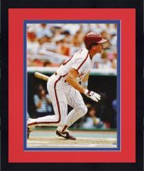 """Framed Mike Schmidt Philadelphia Phillies Autographed 16"""" x 20"""" Batting Photograph"""