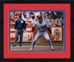 "Framed Mike Schmidt Philadelphia Phillies Autographed 16"" x 20"" Photograph with HOF 1995 Inscription"