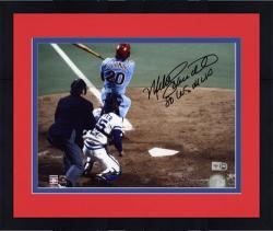 "Framed Mike Schmidt Philadelphia Phillies Autographed 8"" x 10"" Photograph with ""1980 World Series MVP"" Inscription"