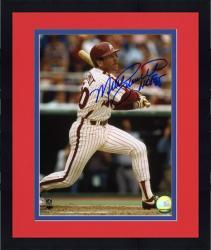 "Framed Mike Schmidt Philadelphia Phillies Autographed 8"" x 10"" Photograph With HOF 95 Inscription"