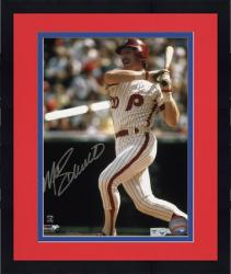 "Framed Mike Schmidt Philadelphia Phillies Autographed 8"" x 10"" Silver Signature Photograph"