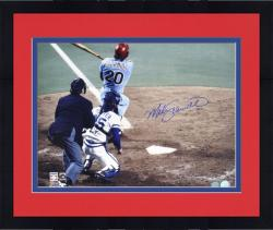 "Framed Mike Schmidt Philadelphia Phillies World Series Autographed 16"" x 20"" Photograph"