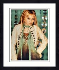 Framed Miley Cyrus Signed 16x20 Photo - SM Holo