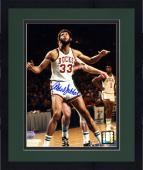 "Framed Milwaukee Bucks Kareem Abdul-Jabbar Autographed 8"" x 10"" Photo"