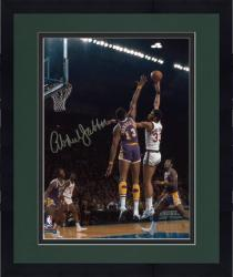 "Framed Milwaukee Bucks Kareem Abdul-Jabbar Autographed 8"" x 10"" Photo vs. Los Angeles Lakers"