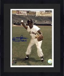 "Framed Minnie Minoso Chicago White Sox Autographed 8"" x 10"" Fielding Photograph"