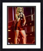 "Framed Miranda Lambert Autographed 11"" x 14"" Singing with Hand on Hip Photograph - PSA/DNA COA"