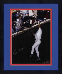 "Framed Moises Alou Chicago Cubs NLCS Game 6 Autographed 16"" x 20"" Bartman Foul Ball Photograph"
