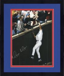 Framed Moises Alou Chicago Cubs Autographed NLCS Game 6 8'' x 10'' Bartman Foul Fall Photograph