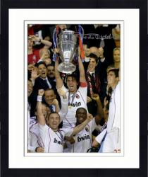 "Framed Paolo Madini AC Milan Autographed 16"" x 12"" Photograph"