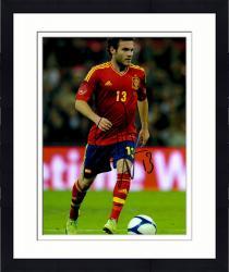 "Framed Juan Mata Spain Autographed 16"" x 12"" Red Jersey Photograph"