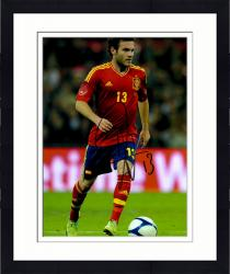 "Framed Juan Mata Spain Autographed 16"" x 12"" Red Jersey Photograph"