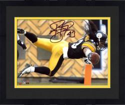 Framed Troy Polamalu Autographed Steelers 8x10 Photo