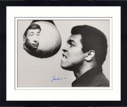 Framed Muhammad Ali Autographed 16'' x 20'' with Cosell Photograph