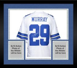 Framed Demarco Murray Signed Jersey - Mounted Memories