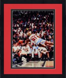 "Framed NBA Chicago Bullls Dennis Rodman Autographed 16"" x 20"" Photo"