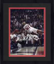 Framed NBA Chicago Bulls Dennis Rodman Autographed 8'' x 10'' Photo
