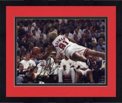 "Framed NBA Chicago Bulls Dennis Rodman Autographed 8"" x 10"" Photo"